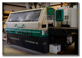 The Weinig Profimat 23 Moulder